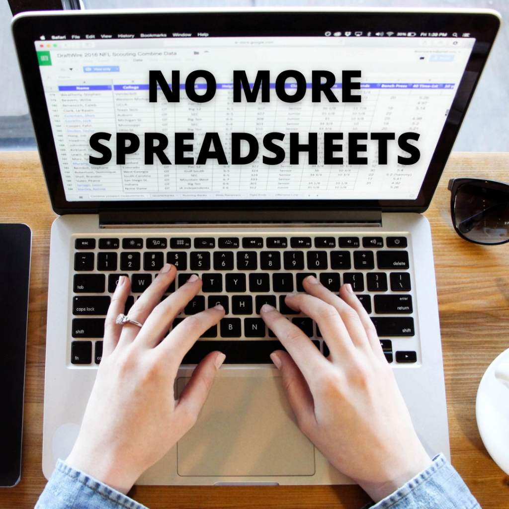 Get data out of the spreadsheets and into a connected PLATFORM for the whole supply chain