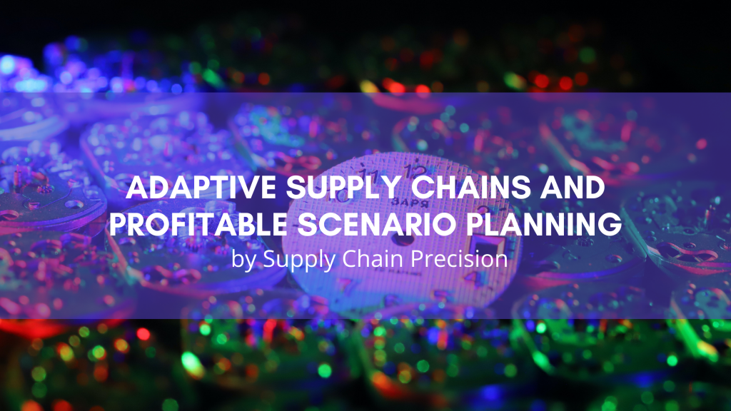 Adaptive Supply Chains and Profitable Scenario Planning