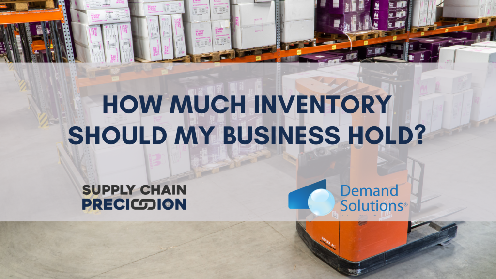 How much inventory should my business hold?