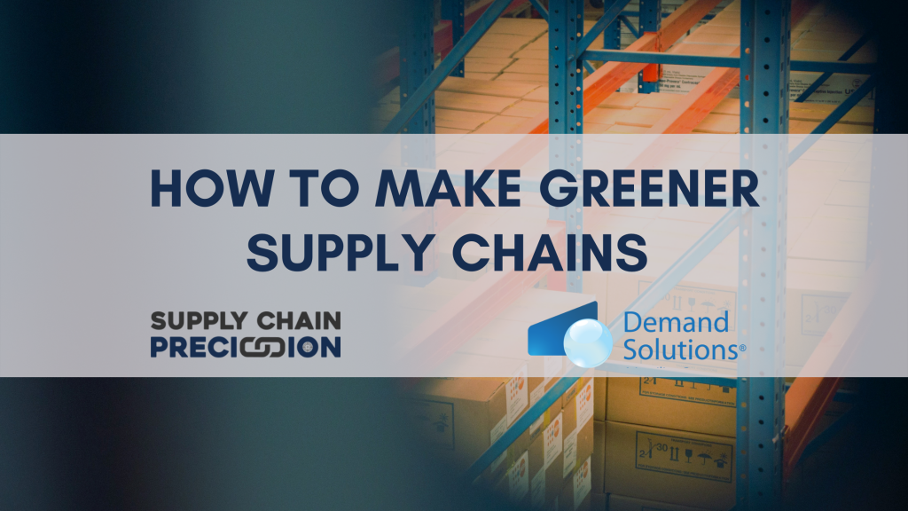 How to make greener supply chains